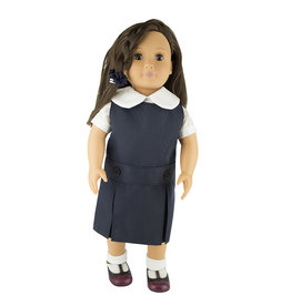 EE Dee Trim Navy Blue Doll Jumper #FBE62