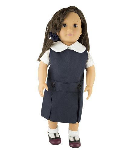 EE Dee Trim Navy Blue Doll Jumper #FBE62
