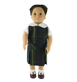 EE Dee Trim Belair Plaid #83 Doll Jumper #FBE62