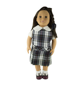 EE Dee Trim Marymount Plaid #8B Doll Jumper #FBE62