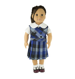 EE Dee Trim Hastings Plaid Doll Jumper #FBE62DBP