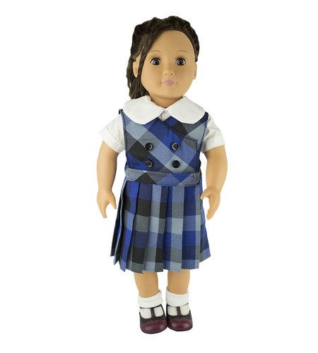 EE Dee Trim Hastings Plaid Doll Jumper #FBE62DBP