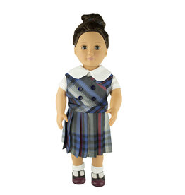 EE Dee Trim Windsor Plaid #31 Doll Jumper #FBE62DBP