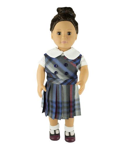 EE Dee Trim Windsor Plaid #31 Doll Jumper #FBE62DBP