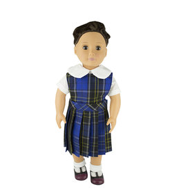 EE Dee Trim Mayfair Plaid #92 Doll Jumper #FBE94