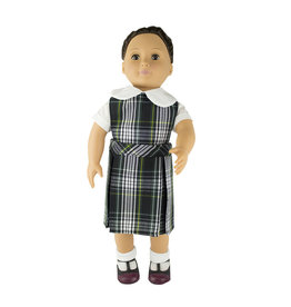 EE Dee Trim Campbell Plaid #61 Doll Jumper #FBE130