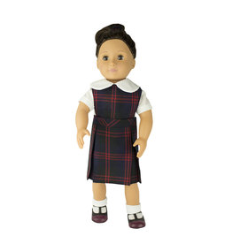 EE Dee Trim Cambridge Plaid #6B Doll Jumper #FBE130