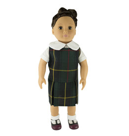 EE Dee Trim Aberdeen Plaid #5L Doll Jumper #FBE133