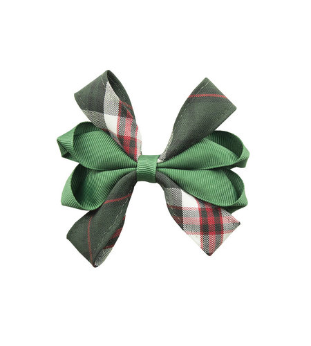 EE Dee Trim Sequoia Plaid Carnival Bow #FBE67