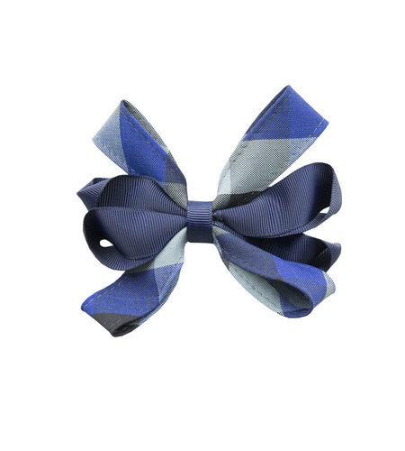 EE Dee Trim Hastings Plaid Carnival Bow #FBE67