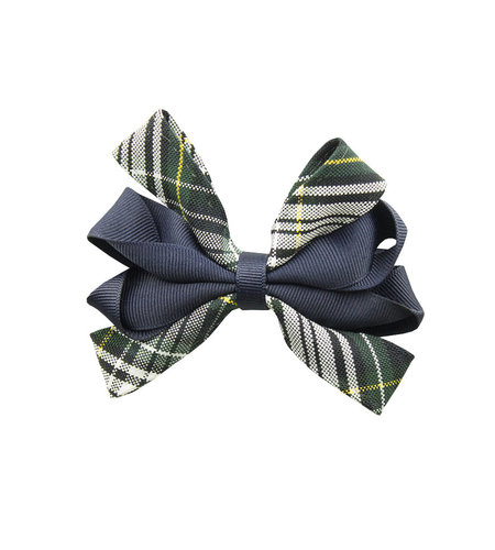 EE Dee Trim Campbell Plaid #61 Carnival Bow #FBE67