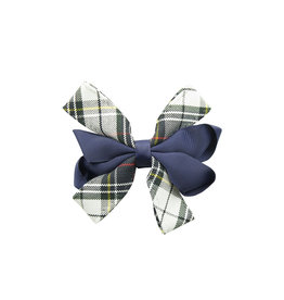 EE Dee Trim Marymount Plaid #8B Carnival Bow #FBE67