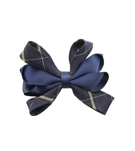 EE Dee Trim Melrose Plaid #6A Carnival Bow #FBE67