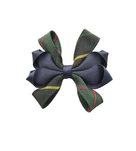EE Dee Trim Aberdeen Plaid #5L Carnival Bow #FBE67
