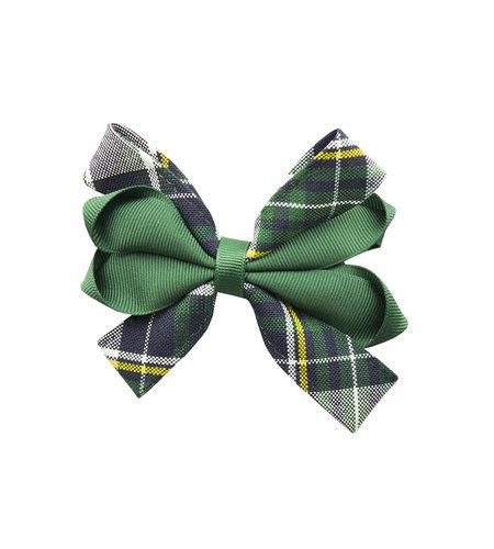 EE Dee Trim Christopher Plaid #1B Carnival Bow #FBE67