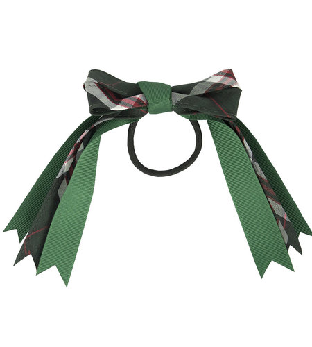 EE Dee Trim Sequoia Plaid Loop Bow #FBE78M