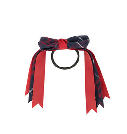 EE Dee Trim Hamilton Plaid #36 Loop Bow #FBE78M