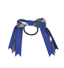 EE Dee Trim Graham Plaid #73 Loop Bow #FBE78M