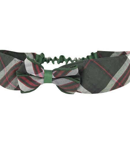 EE Dee Trim Sequoia Plaid Headband #FBE157