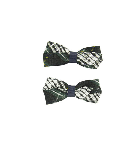 EE Dee Trim Campbell Plaid #61 Pigtail Bows #FBE164