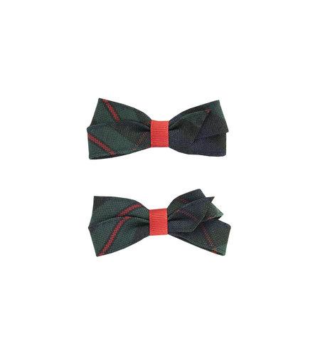EE Dee Trim Lewis Plaid #88 Pigtail Bows #FBE164