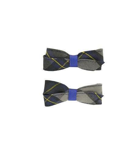 EE Dee Trim Daulton Plaid #87 Pigtail Bows #FBE164