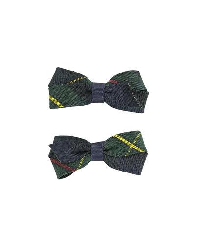 EE Dee Trim Belair Plaid #83 Pigtail Bows #FBE164