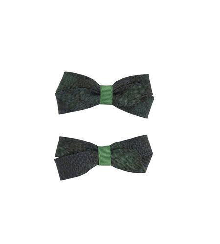 EE Dee Trim Blackwatch Plaid #79 Pigtail Bows #FBE164