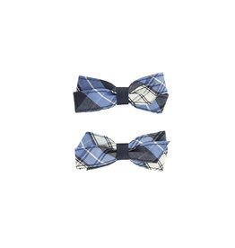 EE Dee Trim RR Plaid #76 Pigtail Bows #FBE164