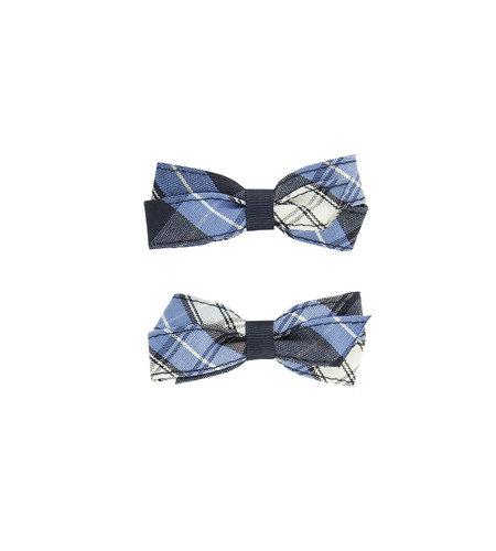 EE Dee Trim RR Plaid #76 Pigtail Bows #FBE164