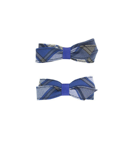 EE Dee Trim Graham Plaid #73 Pigtail Bows #FBE164