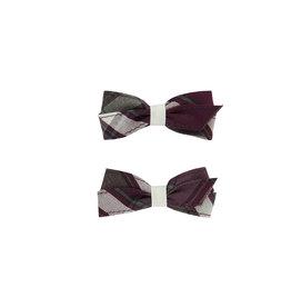 EE Dee Trim Rodrick Plaid #54 Pigtail Bows #FBE164