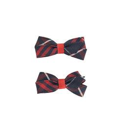 EE Dee Trim Hamilton Plaid #36 Pigtail Bows #FBE164