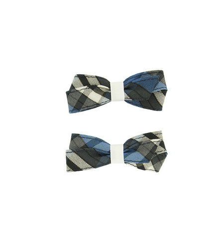 EE Dee Trim Rampart Plaid #29 Pigtail Bows #FBE164