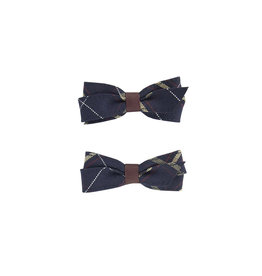 EE Dee Trim Melrose Plaid #6A Pigtail Bows #FBE164