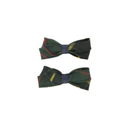 EE Dee Trim Aberdeen Plaid #5L Pigtail Bows #FBE164