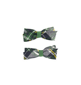 EE Dee Trim Christopher Plaid #1B Pigtail Bows #FBE164