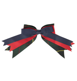 EE Dee Trim Aberdeen Plaid #5L Triple Layer Bow #FBE189