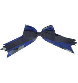 EE Dee Trim Hastings Plaid Triple Layer Bow #FBE189