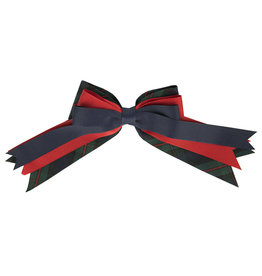 EE Dee Trim Lewis Plaid #88 Triple Layer Bow #FBE189