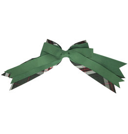 EE Dee Trim Sequoia Plaid Triple Layer Bow #FBE189