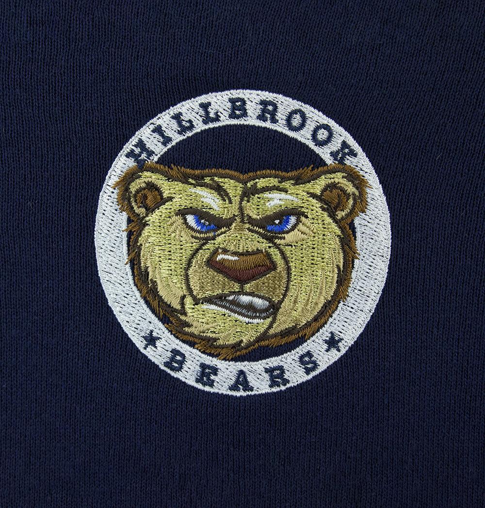 Russell Navy Blue Zip Hooded Sweatshirt 997 Merry Mart