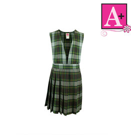 School Apparel A+ Harris Plaid Jumper #1062