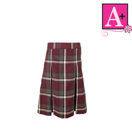School Apparel A+ Francis Plaid 4-pleat Skirt #1034PP