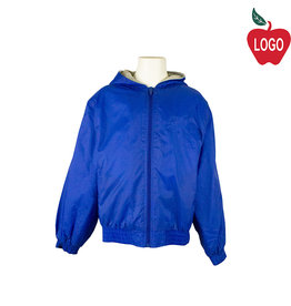 Classroom Royal Blue Hooded Nylon Jacket #53402