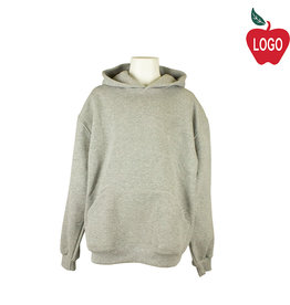 Soffe Oxford Grey Hooded Pullover Sweatshirt #9289