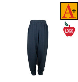 School Apparel A+ Navy Blue Sweatpants #6231