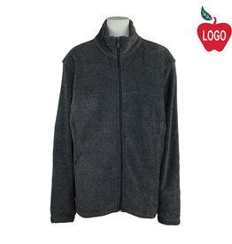 Harriton Charcoal Fleece Jacket #M990