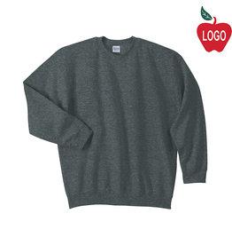 Gildan Dark Heather Crew Sweatshirt #18000