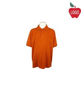 BAW Texas Orange Short Sleeve Polo #ED365
